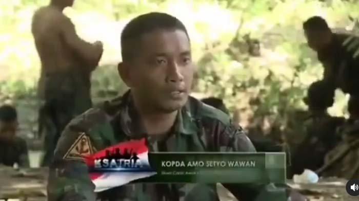 Serda Setyo Wawan yang kini gugur dalam KRI Nanggala 402