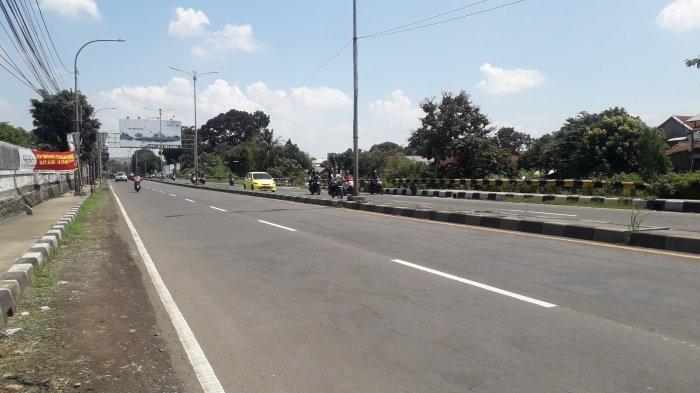 Info Lalu Lintas: Jalan Raya Jakarta - Bogor kawasan Sukaraja Saat Ini Ramai Lancar