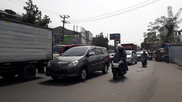 Kondisi Lalu Lintas Jalan KS Tubun Bogor Jumat 10 Juli 2020