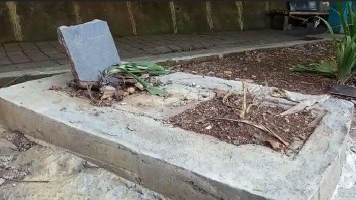 Dikira Makam Di Pinggir Jalan Pajajaran Bogor, Ternyata Bekas Ini