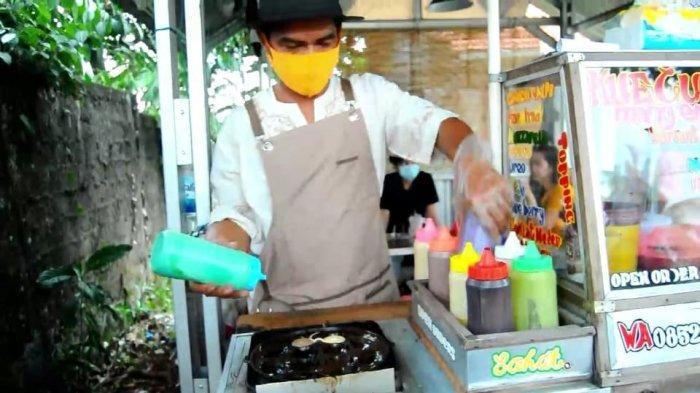Rute Menuju Kue Cubit Mang Enjang, Ini Menu Favorit Rasa Paling Hits