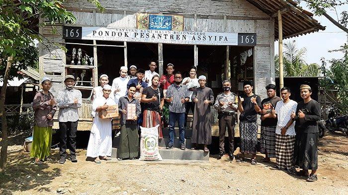 Kunjungan Tribun Network dan KitaBisa ke Ponpes di Bojonggede