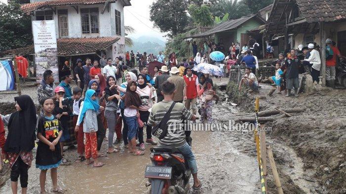 Lokasi Bencana yang Didatangi Jokowi Belum Teraliri Listrik, Ini Harapan Warga Sukajaya Bogor