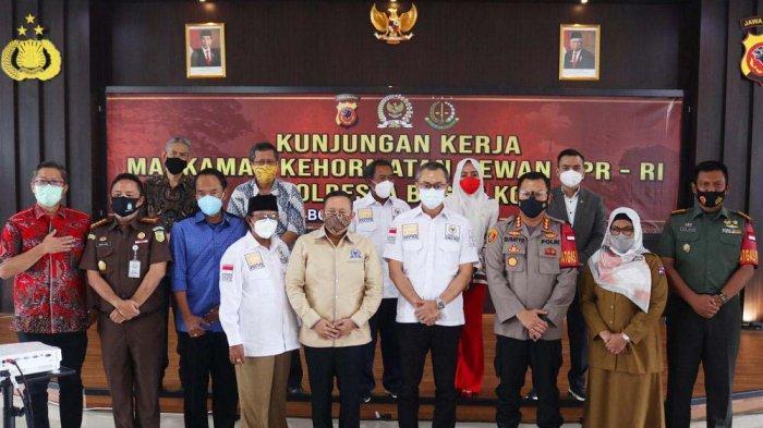 Minta Masukan Forkopimda, MKD DPR RI Kunker ke Polresta Bogor Kota