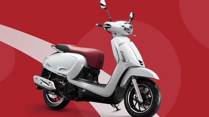 Ini Tampilan Motor Matic 150 cc Terbaru, Sekilas Mirip Vespa, Begini Wujudnya
