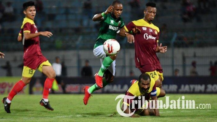 Hasil Piala Gubernur Jatim 2020 - Persik Menang, Bhayangkara FC Gagal Susul Persebaya ke Semifinal