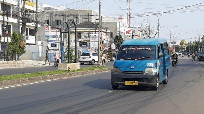 Info Lalu Lintas - Pagi Ini Jalan Raya Mayor Oking Cibinong Lancar