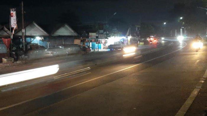 Info Lalu Lintas - Jalan Raya Parung Bogor Malam Ini Lancar