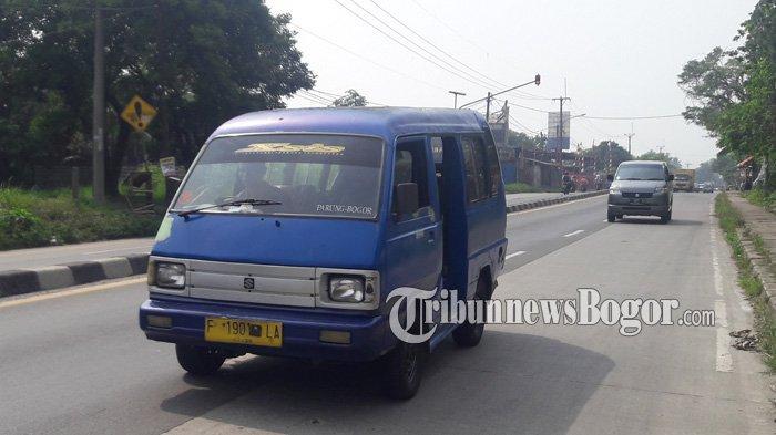 Info Lalu Lintas - Jalan Raya Kemang Menuju Parung Ramai Lancar