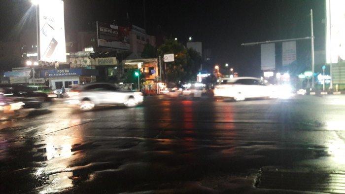 Info Lalu Lintas - Simpang Warung Jambu Malam Ini Lancar