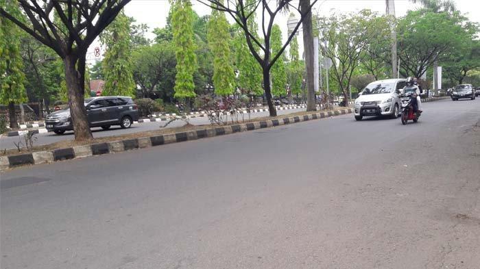 Saat Ini Lalu Lintas di Jalan Raya Tegar Beriman Bogor Lancar