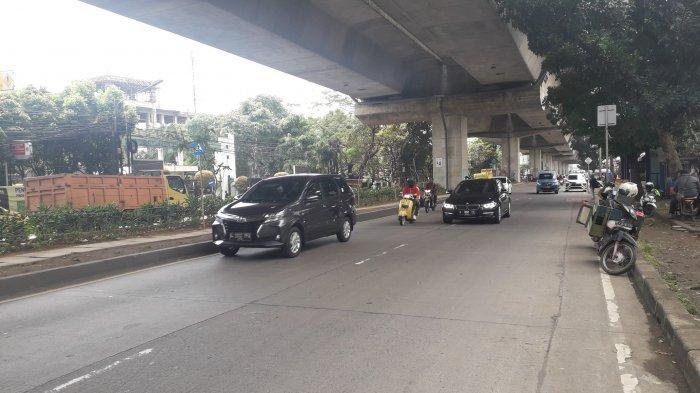 Lalu Lintas di Jalan Soleh Iskandar Arah Parung Saat Ini Ramai Lancar