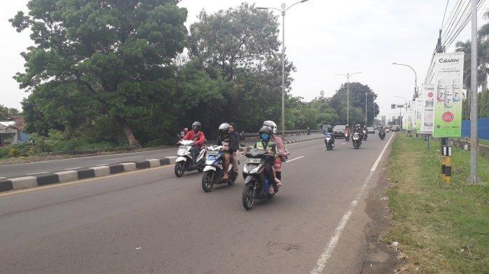 Kondisi Lalu Lintas Jalan Raya Jakarta-Bogor Jumat 3 Juli 2020