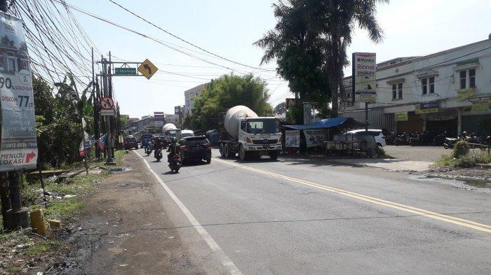 Kondisi Lalu Lintas Jalan Raya Jakarta-Bogor, Pagi Ini Ramai di Kawasan Sukaraja