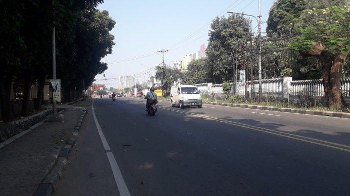 Info Lalu Lintas - Jalan KS Tubun Kota Bogor saat Ini Lancar, Cuaca Cerah
