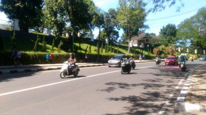 Lalu Lintas di Jalan Jalak Harupat Bogor Lancar Dari Berbagai Arah