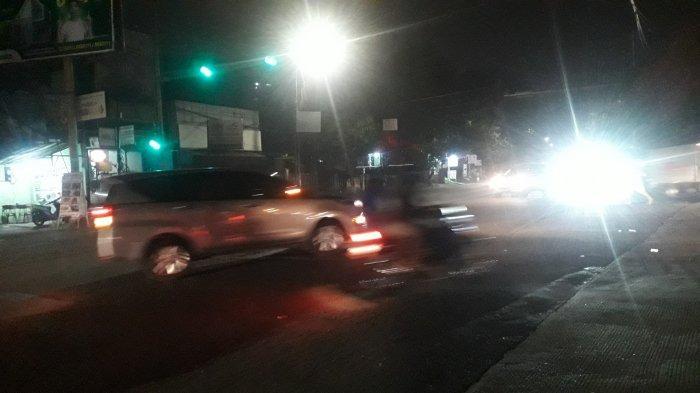 Info Lalu Lintas : Arus Kendaraan di Simpang Kedung Halang Malam Ini Ramai Lancar