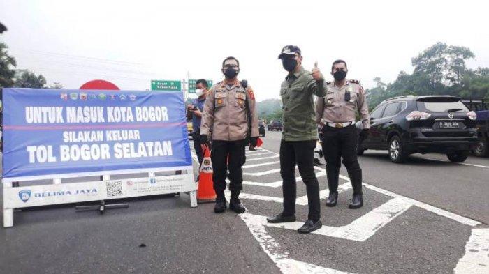 Batasi Mobilitas di Tengah Kota Bogor, Akses Keluar Tol Dialihkan ke Bogor Selatan