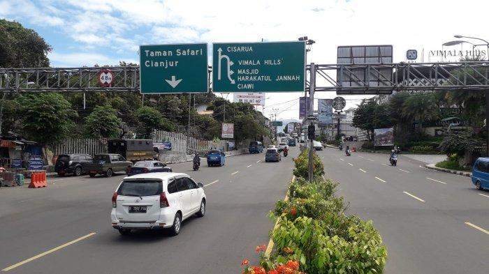 Lalu Lintas di Simpang Gadog Puncak Bogor Saat Ini Ramai Lancar, Tak Ada Sistem Satu Arah