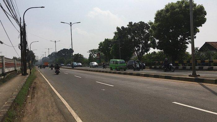 Kondisi Lalu Lintas Jalan Raya Jakarta-Bogor Senin 23 Agustus 2021, Lancar di Kawasan Sukaraja