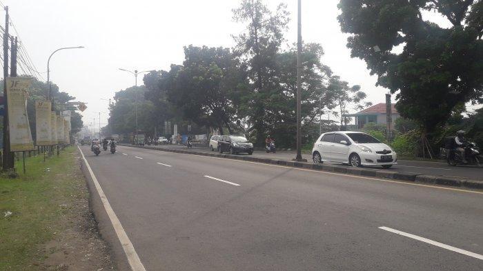 Info Lalu Lintas, Kondisi di Jalan Raya Jakarta-Bogor Pagi Ini
