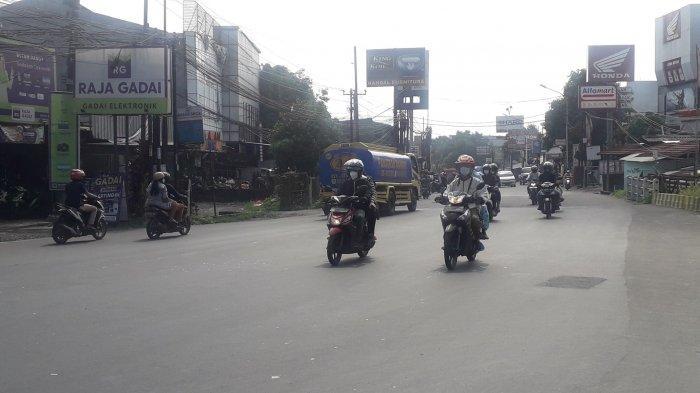 Info Lalu Lintas - Jalan KS Tubun Kota Bogor saat Ini Ramai Lancar, Cuaca Cerah