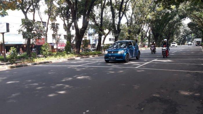 Kondisi Lalu Lintas Jalan Pajajaran Kota Bogor Senin 30 Maret 2020