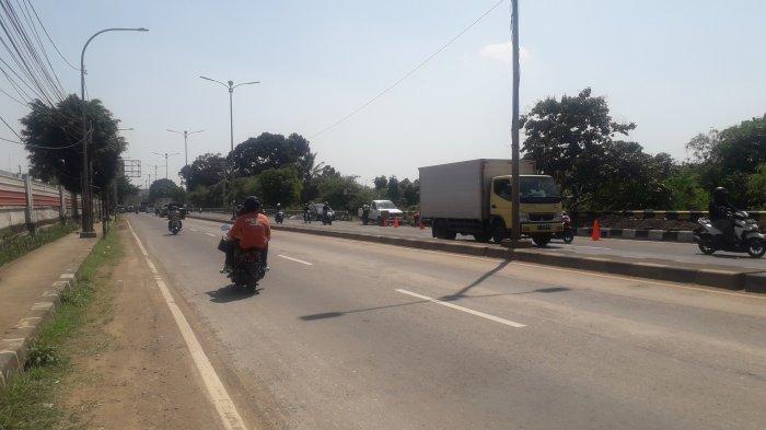 Lalu Lintas di Sukaraja Arah Cibinong, Arus Jalan Raya Jakarta-Bogor Tanpa Hambatan