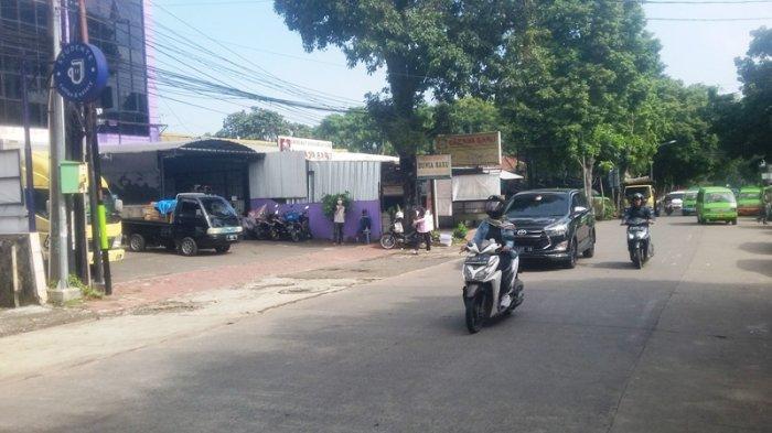 Kondisi Lalu Lintas di Jalan Siliwangi Bogor Selasa 7 Juli 2020