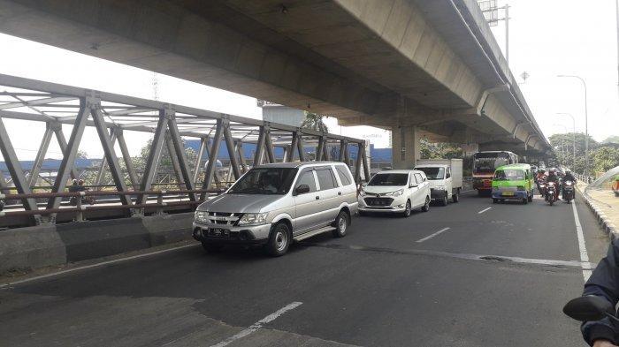 Kondisi Lalu Lintas Jalan Sholeh Iskandar Bogor Kamis 10 September 2020