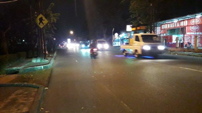 Update Lalu Lintas - Jalan Raya Sukahati Bogor Malam Ini Ramai Lancar