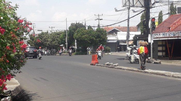 Lalu Lintas di Jalan KS Tubun Kota Bogor Saat Ini Ramai Lancar, Cuaca Terpantau Cerah
