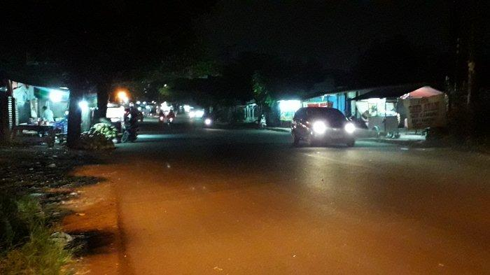 Kondisi Lalu Lintas Jalan Karadenan Bogor Rabu 16 Juni 2021 Malam