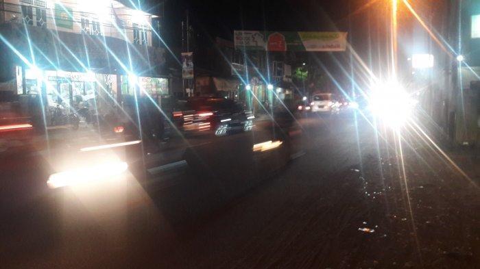 INFO LALU LINTAS : Jalan Karadenan Bogor Ramai Lancar Malam Ini