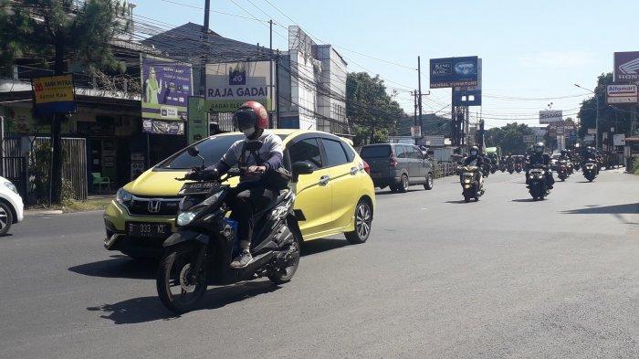 Kondisi Lalu Lintas Jalan KS Tubun Bogor, Pagi Ini Masih Lancar Arah Pajajaran