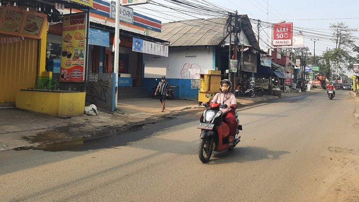 Lalu Lintas di Pabuaran Bogor Arah Depok Lancar Kedua Arah, Hati-hati Jalan Berlubang
