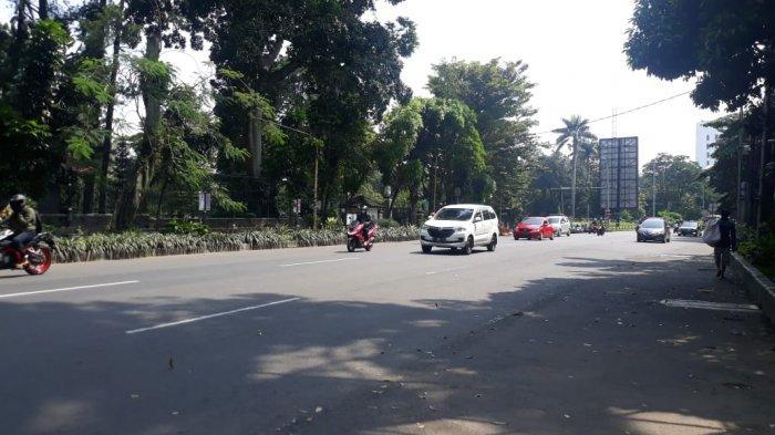 Kondisi Lalu Lintas Jalan Pajajaran Kota Bogor Jumat 15 Mei 2020