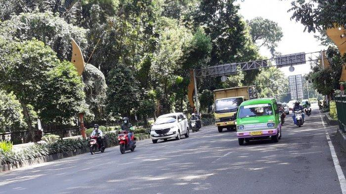 PSBB di Kota Bogor, Lalu Lintas Jalan Pajajaran Masih Ramai Cenderung Padat