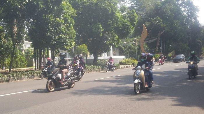 Kondisi Lalu Lintas Jalan Pajajaran Bogor Selasa 30 Juni 2020