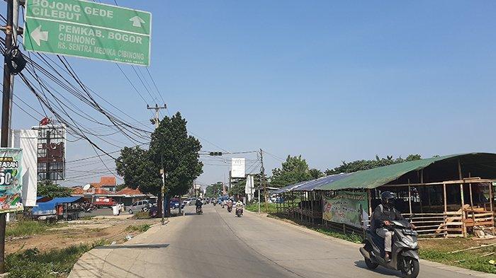 Info Lalu Lintas - Simpang Bambu Kuning Bogor Terpantau Lancar, Cuaca Cerah