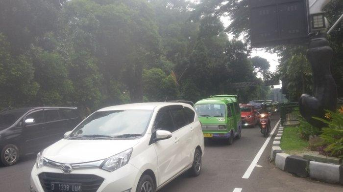 Kondisi Lalu Lintas Seputar SSA Kota Bogor Sabtu 24 Oktober 2020 Sore