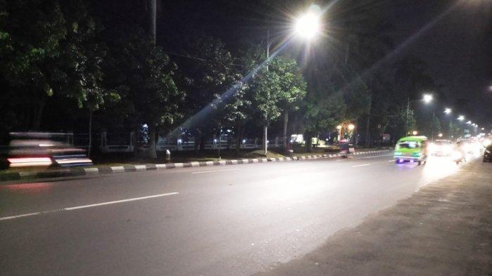 Arus Lalu Lintas ke Arah Plaza Jambu Dua Bogor Lancar di Jalan Sudirman