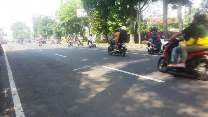 Kondisi Lalu Lintas Jalan Sudirman Bogor Rabu 29 Juli 2020