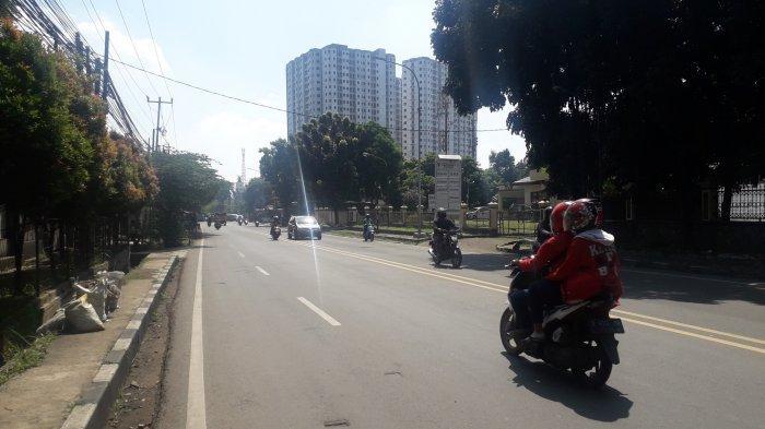 Cuaca Cerah, Lalu Lintas di Jalan KS Tubun Kota Bogor Saat Ini Ramai Lancar