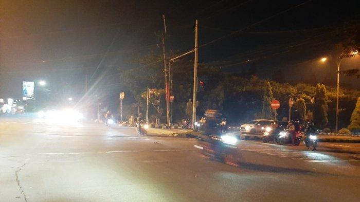 Lalu Lintas dari Arah Pondok Rajeg Menuju Simpang MCD Cibinong Tidak Ada Hambatan
