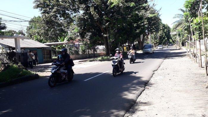 Info Lalu Lintas Kota Bogor - Hari Lebaran Jalan Pemuda Ramai Lancar