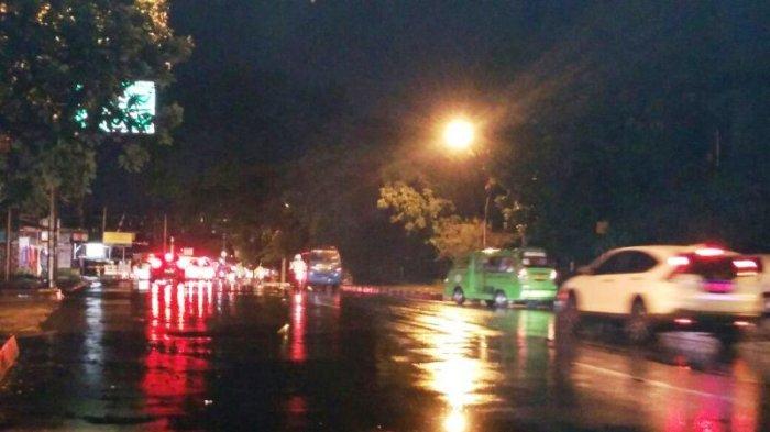 Laju Kendaraan di Jalan Pemuda Lancar Menuju Warung Jambu Bogor