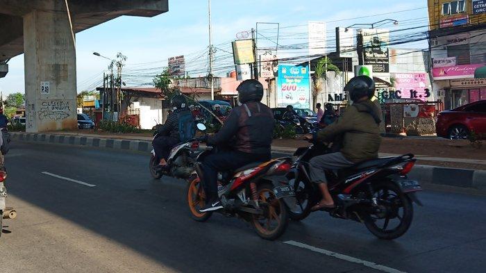 Arus Lalu Lintas di Jalan Soleh Iskandar Kota Bogor Saat Ini Lancar