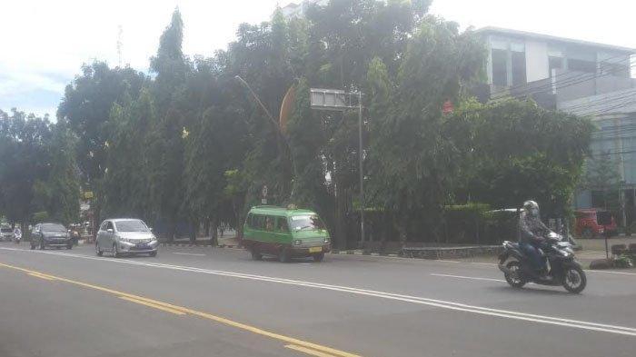 Info Lalu Lintas - Simpang Jalan Lodaya Kota Bogor Terpantau Lancar