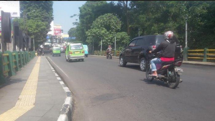INFO LALIN Kota Bogor : Lalu Lintas Sekitaran Jembatan Otista Ramai Lancar